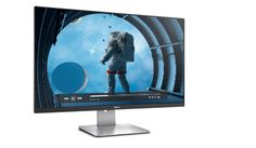 Dell 27 Monitor - S2715H displaying astronaut