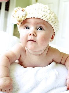 baby knit hat #baby #photography