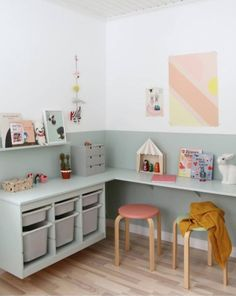 60 Fun Kids Playroom Ideas to Inspire You Best Kids Playroom Ideas for. - 60 Fun Kids Playroom Ideas to Inspire You Best Kids Playroom Ideas for You Kids Playroom - Toy Rooms, Kids Room Design, Playroom Design, Kid Spaces, Play Spaces, Small Spaces, Decor Room, Girl Room, Room Boys