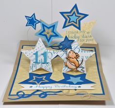 2012 Creation using Sizzix Pop N Cuts and Hero Arts and Penny Black stamps