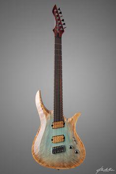 "Padalka Space ""Demiurge"" (front) Space Gallery, Thing 1, Guitar Building, Beautiful Guitars, Guitar Design, Guitar Amp, Les Paul, 1 Piece, Music Instruments"