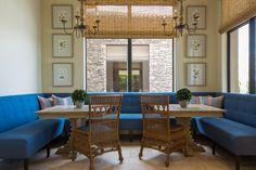 Phoebe Howard ~ banquette design.