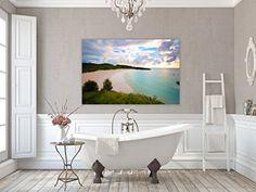 Canvas Gallery Wrap ~ Horseshoe Bay Beach ~ Bermuda (34x54) Photographs by Joules http://www.amazon.com/dp/B018KK1XW0/ref=cm_sw_r_pi_dp_4uhwwb1NME3B4