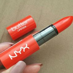 NYX butter lipstick BLS10 Hot Tamale. Brand new. Retail price is $5.99. NYX Makeup Lipstick