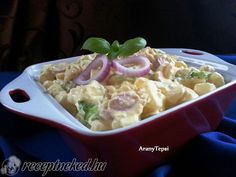 Érdekel a receptje? Kattints a képre! Küldte: aranytepsi Hungarian Recipes, Hungarian Food, Potato Salad, Potatoes, Mint, Ethnic Recipes, Hungarian Cuisine, Potato, Peppermint