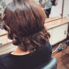 Hair arrangement to go to the wedding ceremony💒 #結婚式#二次会#ヘアアレンジ#ヘアセット#ロングアレンジ#longhair #アップスタイル#instapic#instagood #instadaily #instagram #hairstyle #hair#Hairarrangement#upstyle#longarrange #Hairdresser