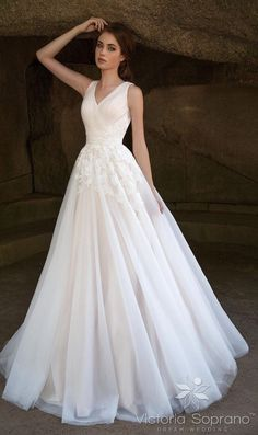 Featured Dress: Victoria Soprano; Wedding dress idea.
