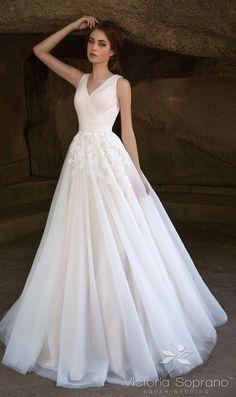 Featured Dress: Victoria Soprano; Wedding dress idea.