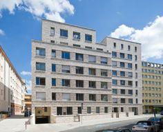 mixed-used house - Mannheim, Germany - Stefan Forster Architekten