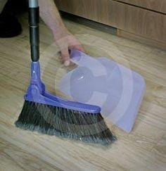 Adjustable Broom w/Dust Pan