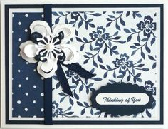 Card making kit of 4 Birthday Thinking of You Thank You Get Well Floral Boutique #StampinUp