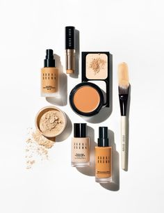 Bobbi Brown | Foundation Essentials | Best Sellers | Even Finish | Compact | Foundation Brush | Makeup