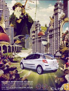Publicité Clio 2007 - H. Builly