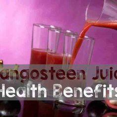 Mangosteen Juice Health Benefits