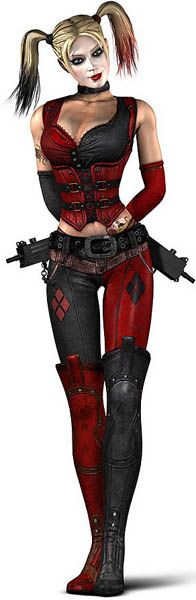 Harley Quinn, from the Arkham City video game