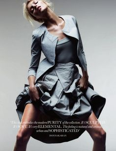 Anja Rubik by Jan Welters for Elle UK | Fashion Photography | Fashion Editorial