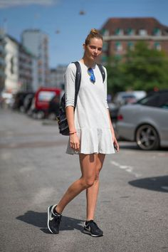 Copenhagen Fashion Week Spring 2015 Street Style - HarpersBAZAAR.com