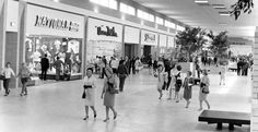 Regency Square Mall, Jacksonville, FL. Ladies in suits, heels, gloves!! First actual enclosed shopping ctr. when I was a teenager.