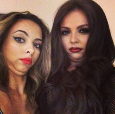 Jesy Nelson and Jade Thirlwall. haha! :)