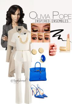"""Olivia Pope 2"" by iamphynomenal on Polyvore"