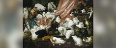 """PHOTO: Nineteenth century painting """"My Wifes Lovers,"""" dubbed the """"worlds largest cat painting,"""" was sold at a Sothebys New York auction for $826,000 on Nov. 3, 2015."""