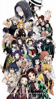 Demon Slayer Kimetsu No Yaiba Manga Anime Demon, Wallpaper, Slayer Anime, Demon, Anime Lovers, Art, Anime Wallpaper, Manga, Aesthetic Anime