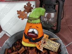 E-Pattern  Scary Sweets and Pumpkin Treats Pattern 158