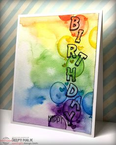 Dee's Art Utopia: STAMPlorations Spotlight - More fun with alphabets! Masculine one layer card inspiration