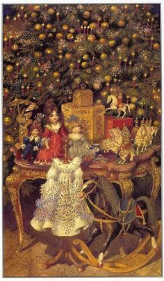 The Nutcracker - Gennady Spirin (b. 1948)