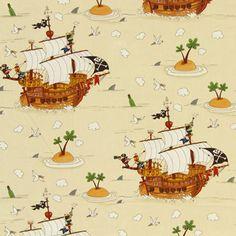 Cotton Pirate 1 - Cotton - cream