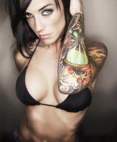 best tattuajes sexy women images on pinterest tattoo girls 1