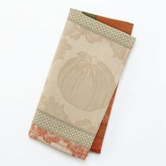 Croft and Barrow Pumpkin Patch Napkin