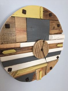 "Funky Modern 20"" Wall Clock"
