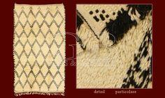 I TAPPETI BENI OURAIN sono i più tradizionali e autentici tra le tante tipologie di tappeti berberi.