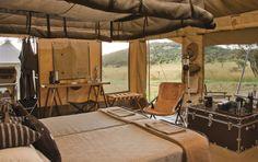 Singita mobile tented camp - Can't wait!