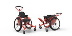 Veldink Kiddo Tilt (Kinderrolstoel, duwrolstoel passive wheelchair for children)
