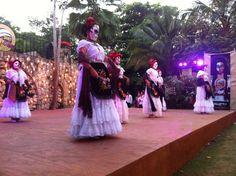 """X-KEBAN COLEEL (LA MUJER PECADORA)"" BALLET TUMBEN HUHUB DE CHUNHUHUB #FestivalVidayMuerte #Xcaret"