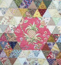 Patchwork Fundamentals: New York beauty/bird of paradise style quilt patterns from Aussie quilter Chris Jurd