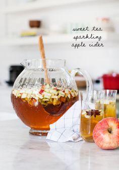 Sweet tea sparkling apple cider recipe