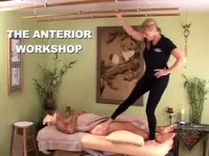 Ashiatsu DeepFeet Bar Therapy's Anterior/Sidelying Workshop: learn the continuation of Ashiatsu techniques to round out your full body BarefootBar massage session.
