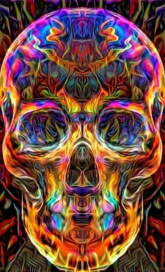 Skulls ☆ DanaMichele ☠  Something for me to do,... Do my own sugar skull …