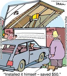 Garage door opener cartoons, Garage door opener cartoon, funny, Garage door opener picture, Garage door opener pictures, Garage door opener ...
