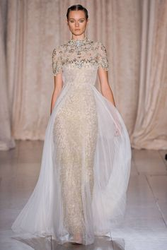 NEW YORK - Marchesa #fashion #nyfw #runway