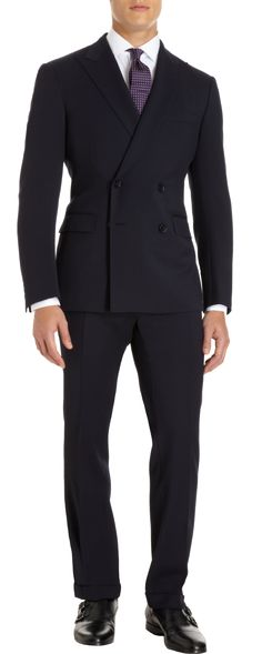 menswear l suit for men l Ralph Lauren Black Label Two-Piece Double Breasted Suit l Dapper Guy Style / #clothes l #fashion l #menswear