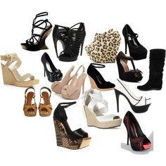 Oh the Shoes! The SHOES! This is one of my addictions!!