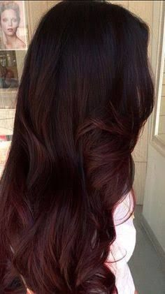 Image result for long dark mahogany hair Subtle Ombre, Hair Color And Cut, Sister Tattoos, Red Hair, Hair Ideas, Hairdos, Red Hair Weave, Reddish Hair, Sister Tattoo Designs