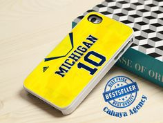 Michigan Wolverines iPhone 4,4s,5,5s,5c,6,6 plus,Samsung S3,S4,S5,iPod 4.5 Case