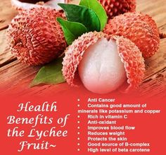 Health Benefits Of Lychee fruit