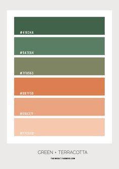 Pantone Colour Palettes, Color Schemes Colour Palettes, Green Color Schemes, Pantone Color, Green Pallete, Pantone Green, Rustic Color Palettes, Color Palette For Home, Hex Color Palette