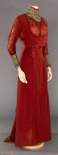 """COUTURE PAQUIN WALKING SUIT, """"CARLOMAN"""", WINTER, 1908 by leigh"""